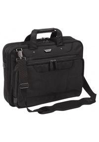 Czarna torba na laptopa TARGUS w kolorowe wzory