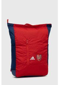 adidas Performance - Plecak. Kolor: czerwony. Materiał: poliester