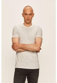 Biały t-shirt Levi's® casualowy, na spotkanie biznesowe