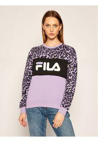 Fioletowa bluza Fila