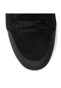 Czarne sneakersy Baldinini z cholewką, na co dzień