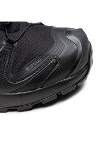 Czarne buty do biegania salomon Gore-Tex