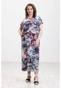 Sukienka Moda Size Plus Iwanek casualowa, do pracy, na lato
