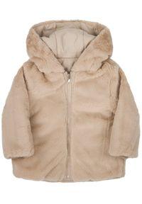 Beżowa kurtka zimowa Mayoral