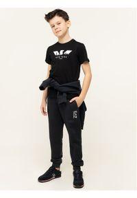 Emporio Armani T-Shirt 6G4TA7 1J00Z 0999 Czarny Regular Fit. Kolor: czarny