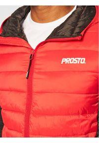 Czerwona kurtka puchowa Prosto. #5