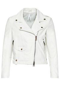 Biała kurtka przejściowa Imperial