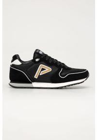 Czarne sneakersy Pepe Jeans z cholewką, na sznurówki