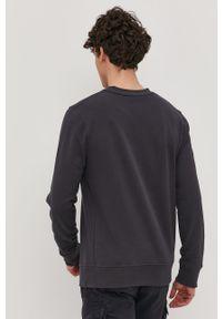 Szara bluza nierozpinana Helly Hansen z nadrukiem, na co dzień, casualowa