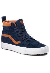 Niebieskie sneakersy Vans