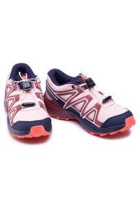 Pomarańczowe buty do biegania salomon z cholewką, Salomon Speedcross