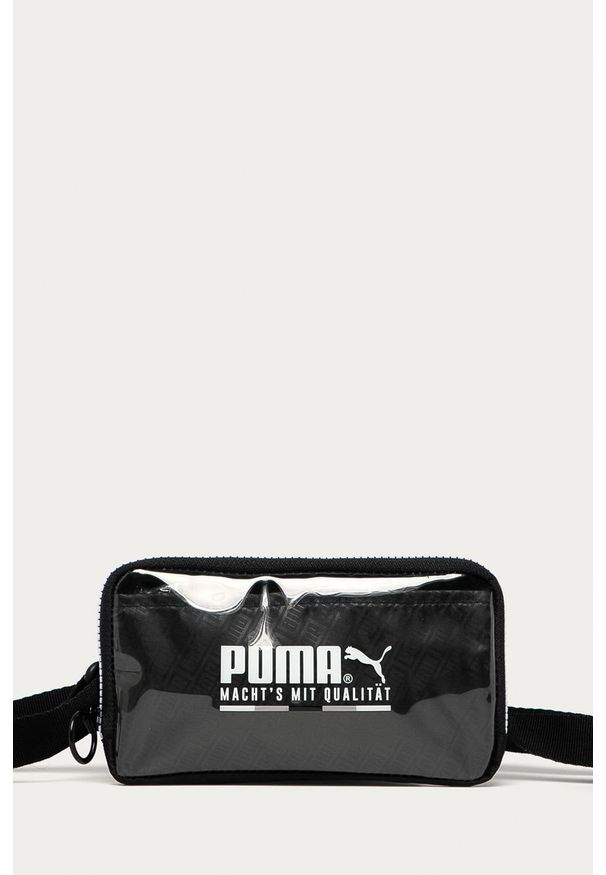 Czarna nerka Puma z nadrukiem