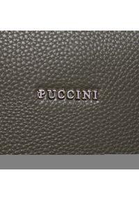 Zielona torebka klasyczna Puccini #5