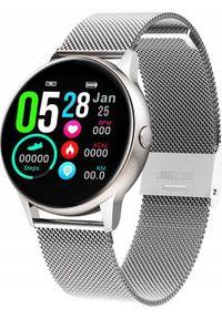 Smartwatch Pacific ZY40C + pasek Srebrny. Rodzaj zegarka: smartwatch. Kolor: srebrny