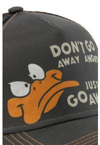 Brązowa czapka z daszkiem CapsLab z nadrukiem