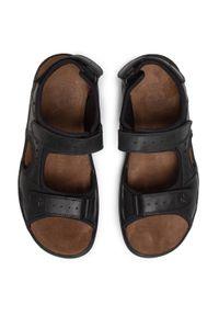 Czarne sandały Panama Jack casualowe, na co dzień