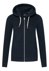 Superdry Bluza Orange Label W2010442A Czarny Slim Fit. Kolor: czarny #5