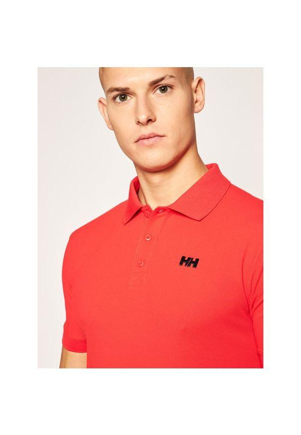 Czerwona koszulka sportowa Helly Hansen