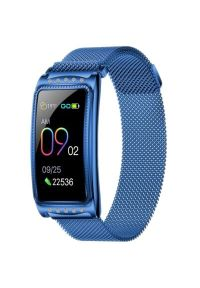 Niebieski zegarek GARETT klasyczny, smartwatch #1