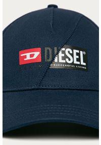 Czapka z daszkiem Diesel z nadrukiem #4
