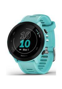 Zegarek sportowy GARMIN Forerunner 55 Morski. Rodzaj zegarka: smartwatch. Kolor: morski. Styl: sportowy