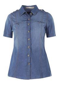 Niebieska koszula Born2be