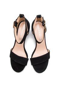 Czarne sandały Baldaccini casualowe, na co dzień #6