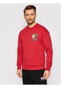 Puma Bluza MICHAEL LAU 530358 Czerwony Regular Fit. Kolor: czerwony