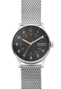 Skagen - Zegarek SKW6682. Kolor: srebrny. Materiał: materiał