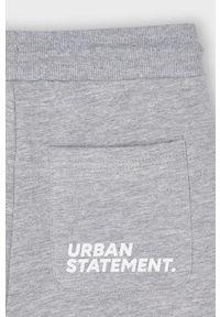 Szare spodnie dresowe Mayoral gładkie