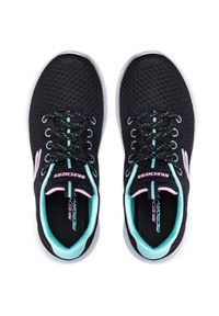 skechers - Buty SKECHERS - Simply Special 302070L/BKTQ Black/Turquoise. Kolor: czarny. Materiał: materiał. Szerokość cholewki: normalna