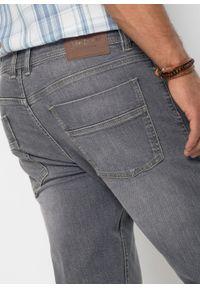 Dżinsy ze stretchem Regular Fit Straight bonprix Dżinsy Regular Fit Str sz.den. Kolor: szary #5