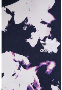 adidas Originals - Longsleeve bawełniany. Materiał: bawełna. Długość rękawa: długi rękaw. Wzór: aplikacja