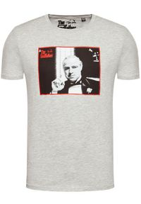 Only & Sons - ONLY & SONS T-Shirt Godfather 22020213 Szary Regular Fit. Kolor: szary