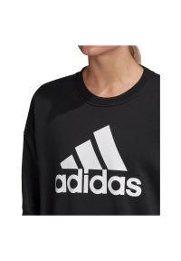 Adidas - Bluza damska adidas Crew Sweatshirt GC6925. Materiał: polar, poliester, bawełna. Sezon: jesień. Sport: turystyka piesza
