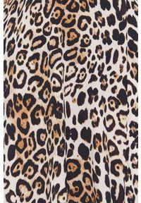 Morgan - Sukienka. Kolor: brązowy. Długość rękawa: na ramiączkach. Typ sukienki: rozkloszowane #3