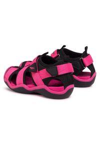Różowe sandały Sprandi na lato