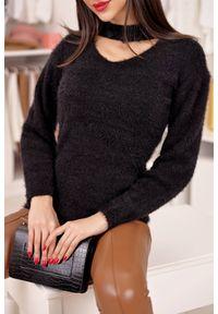 Czarna bluzka IVET plus size