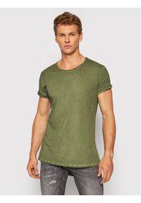 Tigha T-Shirt Milo 100107 Zielony Regular Fit. Kolor: zielony