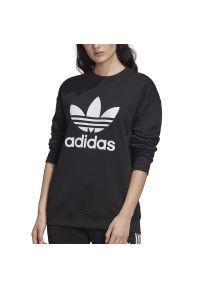 Bluza Adidas casualowa, z kontrastowym kołnierzykiem