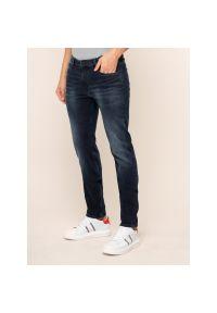 Niebieskie jeansy Karl Lagerfeld