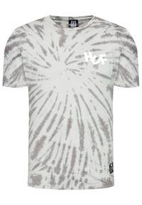 HUF T-Shirt HAZE Brush Tie Dye TS01383 Szary Regular Fit. Kolor: szary
