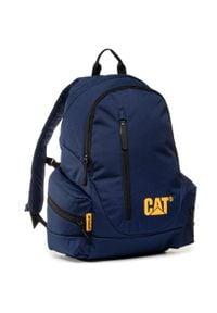 CATerpillar - Plecak CATERPILLAR - Backpack 83541-184 Midnight Blue. Kolor: niebieski. Materiał: materiał