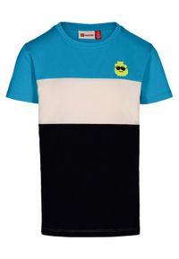 T-shirt LEGO Wear w kolorowe wzory