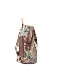 Anekke - Plecak ANEKKE - Jungle 30715-64JUC Kolorowy. Materiał: skóra. Wzór: kolorowy