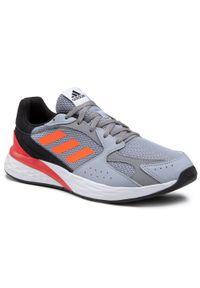 Szare buty do biegania Adidas