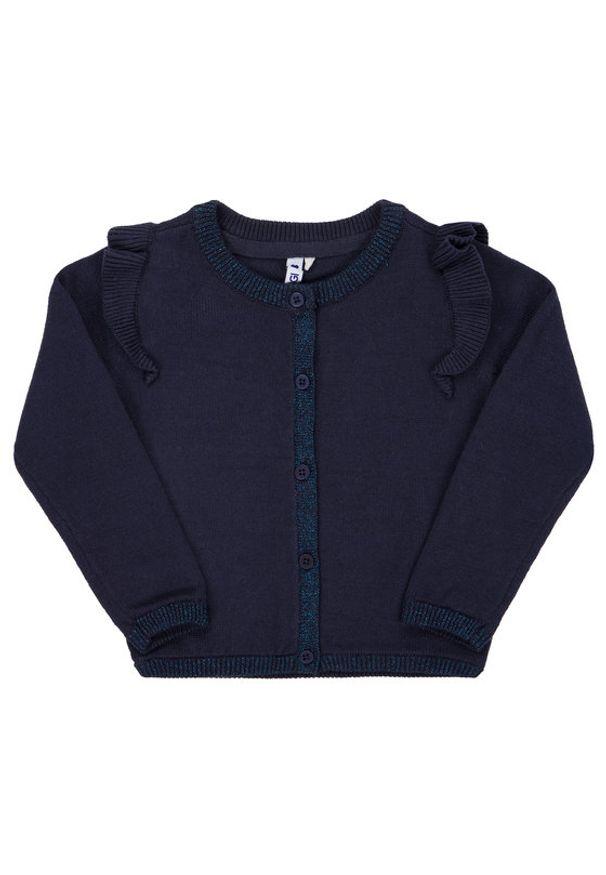 Primigi Sweter Glam Winter 44142505 Granatowy Regular Fit. Kolor: niebieski