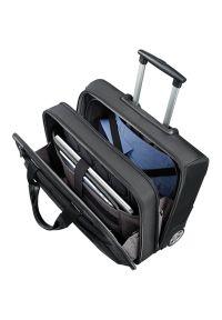 Czarna torba na laptopa Samsonite elegancka #7