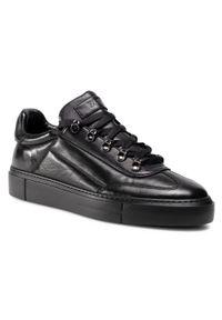 Czarne sneakersy Fabi na co dzień, z cholewką