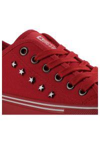 Big-Star - Trampki BIG STAR DD274614 Czerwony. Zapięcie: pasek. Kolor: czerwony. Materiał: guma. Wzór: paski. Styl: sportowy
